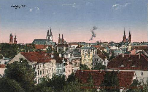 Liegnitz, Stadtansicht