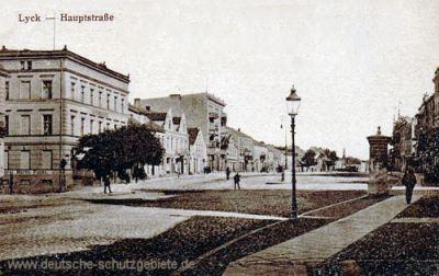 Lyck, Hauptstraße