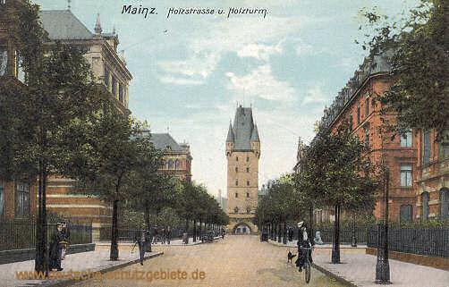 Mainz, Holzstraße und Holzturm