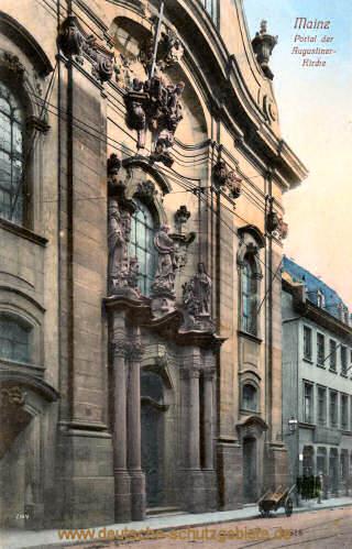 Mainz, Portal der Augustinerkirche