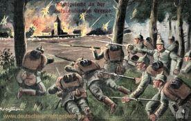 Nachtgefecht an der ostpreußischen Grenze