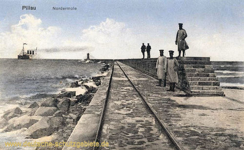 Pillau, Nordermole