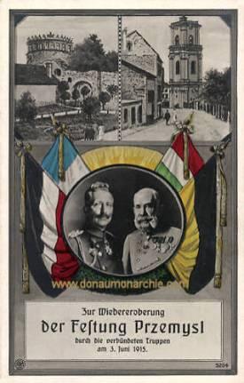 Przemysl, Wiedereroberung am 3. Juni 1915