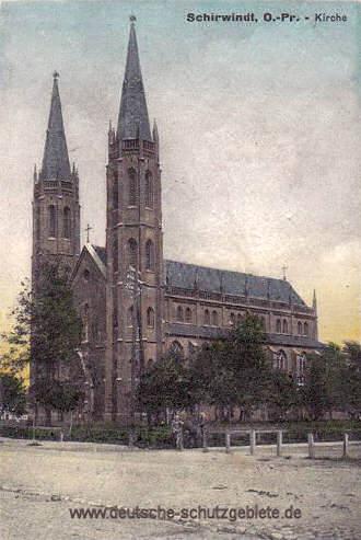 Schirwindt, Kirche