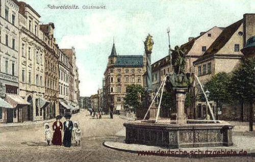 Schweidnitz, Obstmarkt