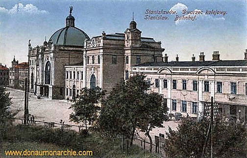 Stanislau, Bahnhof