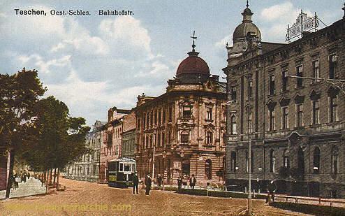 Teschen, Bahnhofstraße