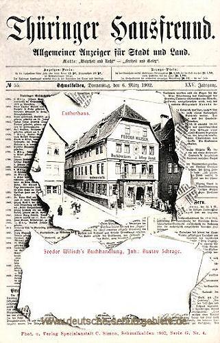 Thüringer Hausfreund, Schmalkalden, Lutherhaus