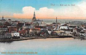 Tilsit, Blick auf die Stadt