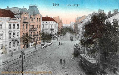 Tilsit, Hohestraße