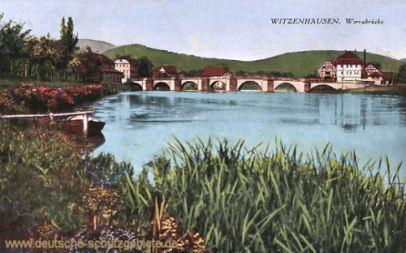 Witzenhausen, Werrabrücke