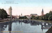 Altenburg S. A., Kleiner Teich mit roten Spitzen
