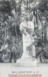 Ballenstedt, Herzogin Friederike-Denkmal