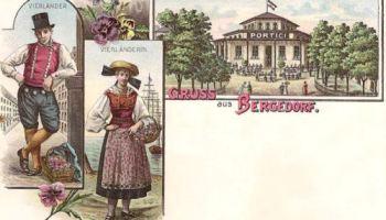 Bergedorf, Vierländer, Vierländerin, Club- und Ballhaus Portici