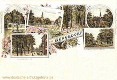 Bergedorf, Großestraße, Holstenstraße, Schloss