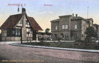 Bernburg, Bahnhof