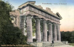 Braunschweig, Portikus im Bürgerpark