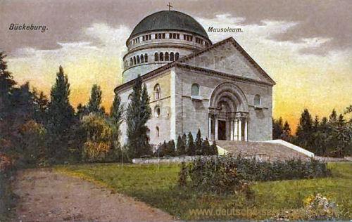 Bückeburg, Mausoleum