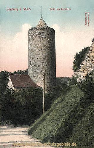 Camburg a. S., Partie am Turmberg