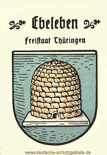 Ebeleben, Wappen