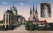 Erfurt, Dom und Severikirche mit Glocke Gloriosa