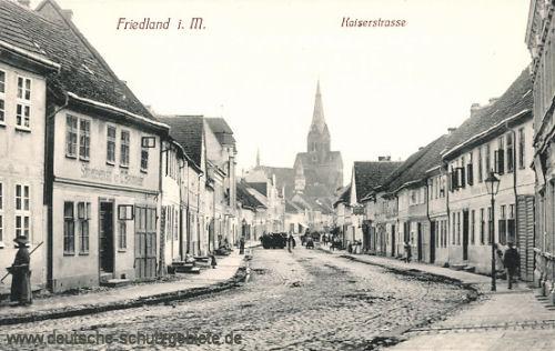 Friedland in Mecklenburg, Kaiserstraße