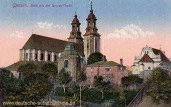 Gnesen, Dom mit der Georg-Kirche