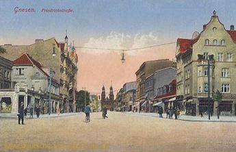 Gnesen, Friedrichstraße