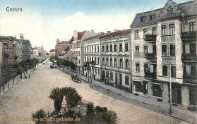 Gnesen, Straßenansicht