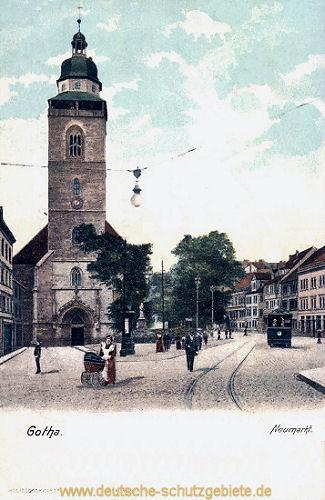 Gotha, Neumarkt
