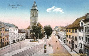 Gotha, Neumarkt mit Margarethenkirche