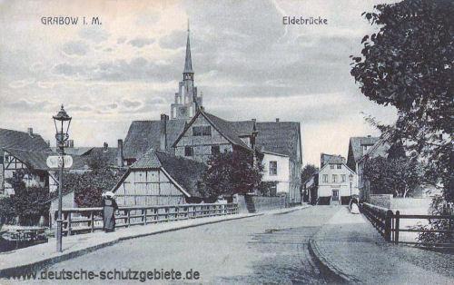 Grabow i. M., Eldebrücke