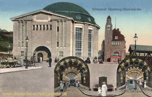 Hamburg-Steinwärder, Elbtunnel