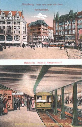 Hamburg, Bahnhof Rathausmarkt