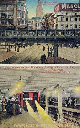 Hamburg, Hoch- und Untergrundbahn