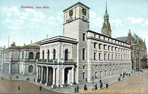 Hamburg, Neue Börse