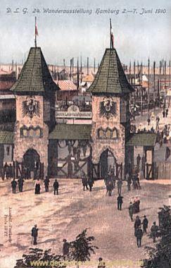 Hamburg, Wanderausstellung 1910