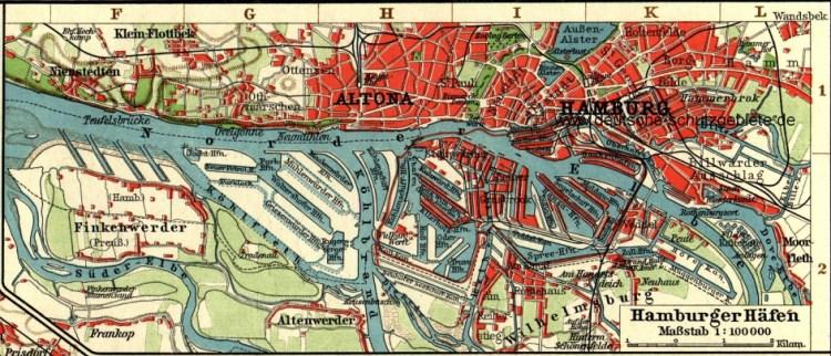 Hamburger Hafen, 1912