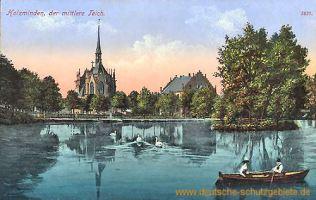 Holzminden, der mittlere Teich