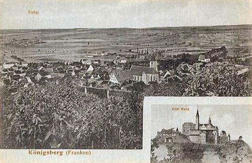 Königsberg (Franken), Stadtansicht, Alte Burg