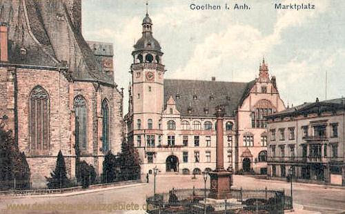 Köthen, Marktplatz