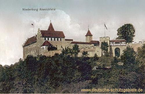 Kranichfeld, Niederburg