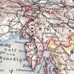 Küstenland, Detailkarte 1900
