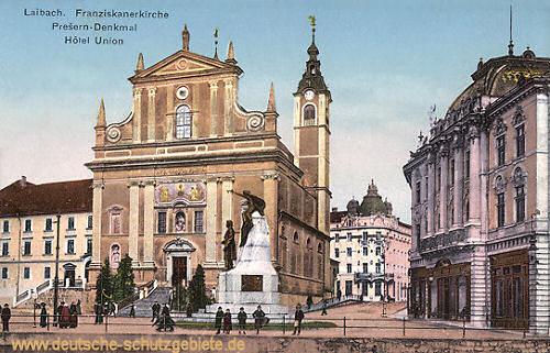 Laibach Hauptstadt Krains Deutsche Schutzgebiete De