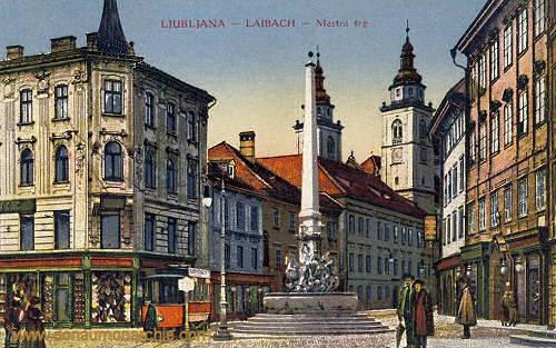 Ljubljana - Laibach, Mestni trg