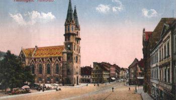 Meiningen, Marktplatz