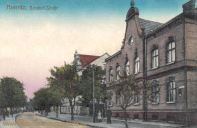 Meseritz, Bahnhof-Straße