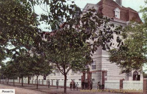 Meseritz, Neue Volksschule