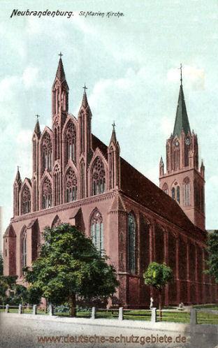 Neubrandenburg, St. Marien-Kirche