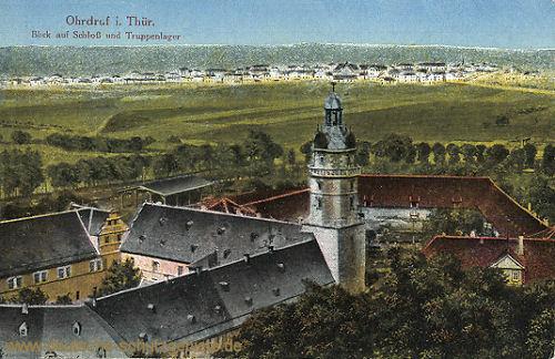 Ohrdruf, Schloss und Truppenlager